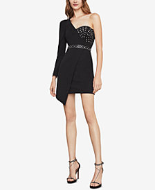 BCBGMAXAZRIA Asymmetrical One-Shoulder Dress