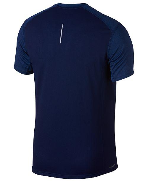 04eeaf535692 Nike Men s Dry Miler Running T-Shirt   Reviews - T-Shirts - Men - Macy s