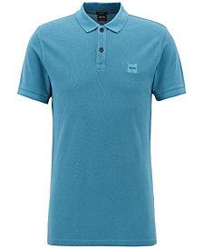 BOSS Men's Slim-Fit Piqué Cotton Polo