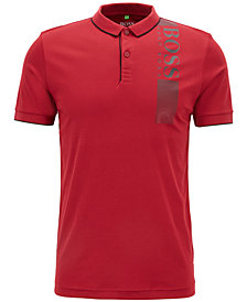BOSS Men's Slim-Fit Logo Graphic Polo