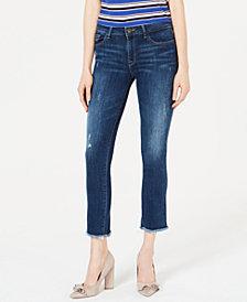 DL 1961 Mara Mid-Rise Ankle Straight-Leg Jeans