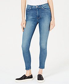 Hudson Jeans High-Waist Barbara Super-Skinny Ankle Jeans