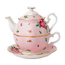 Royal Albert New Country Roses Tea Party Pink Tea For One