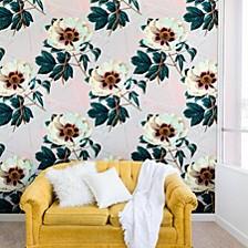 Marta Barragan Camarasa Flowery Blooming 8'x8' Wall Mural