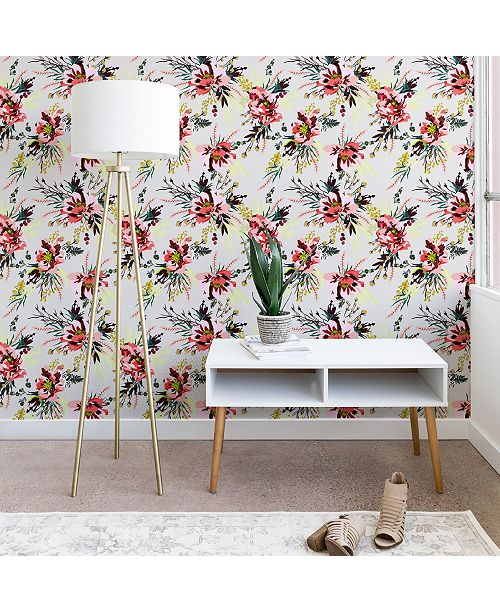 Deny Designs Holli Zollinger Poppy Wild 2'x10' Wallpaper