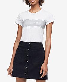 Calvin Klein Jeans Star-Print Reflective T-Shirt