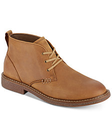 Dockers Men's Tulane Leather Desert Chukka Boots
