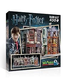 Wrebbit - Diagon Alley 450 Piece 3D Puzzle