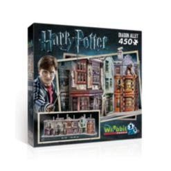 Wrebbit Harry Potter Collection - Diagon Alley 3D Puzzle- 450 Pieces