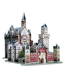 Wrebbit - 3D Neuschwanstein Castle 3D Puzzle, 890 Pieces