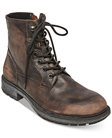 Self Made by Steve Madden Men's Smoky Leather Boots