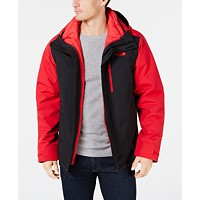 The North Face Carto Triclimate Men's 3-in-1 Jacket (Red/Black, large sizes)