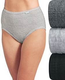 Elance Brief Underwear 3 Pack 1484 1486, Extended Sizes