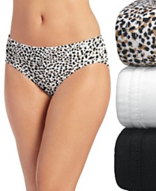 Jockey Elance Bikini Underwear 3 Pack 1481 1489 (Also available in plus sizes)