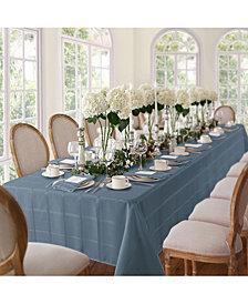 """Elrene Elegance Plaid Blue Shadow 52"""" X 70"""" Tablecloth"""