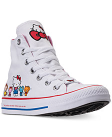 Converse Women's Chuck Taylor High Top Hello Kitty Casual Sneakers from Finish Line