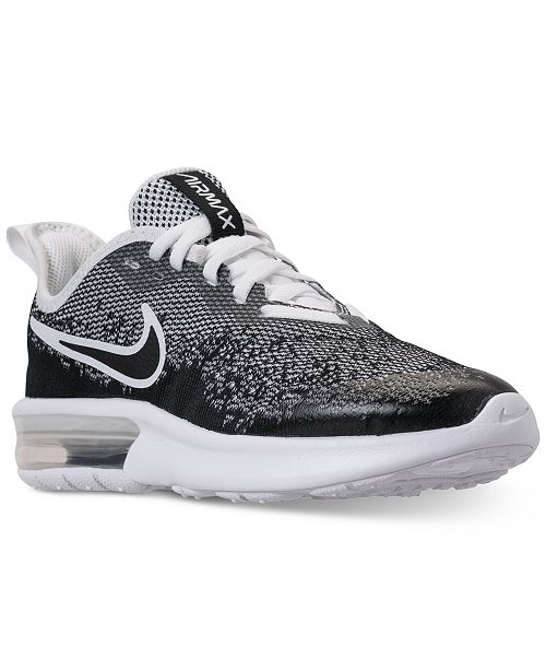 a263b7163ec6af ... Nike Boys  Air Max Sequent 4 Running Sneakers from Finish Line ...