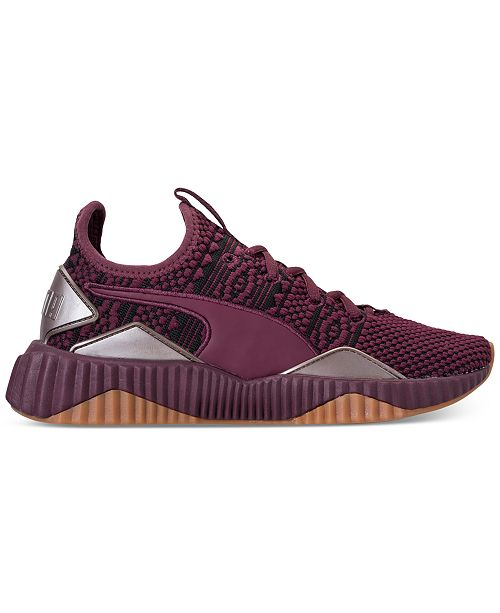 385be2450e23 ... Puma Women s Defy Luxe Casual Sneakers from Finish ...