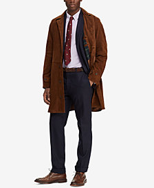 Polo Ralph Lauren Men's Suede Balmacaan Topcoat