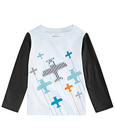First Impressions Baby Boys Airplanes Graphic T-Shirt, Created for Macy's