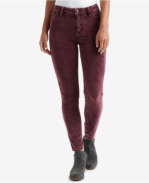 df0ab244615 Lucky Brand Ava Super Skinny Velvet Jeans   Reviews - Pants   Capris ...