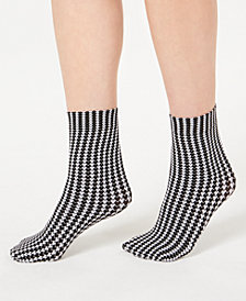 I.N.C. Printed Anklet Socks, Created for Macy's