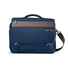 Men's Kombi Flap Briefcase
