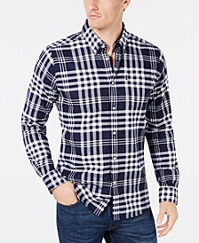 Barbour Men's Endsleigh Tailored-Fit Plaid Twill Shirt