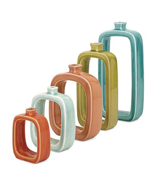 IMAX Warlow Vases - Set of 5