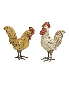 Imax Parson Roosters - Set of 2