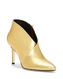 Layra Pointy Toe Booties