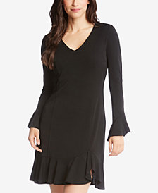 Karen Kane Sienna Ruffled A-Line Dress