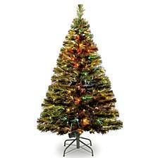 """National Tree 48"""" Fiber Optic Radiance Fireworks Tree"""
