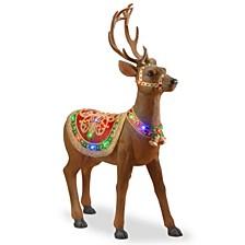 "49"" Pre-lit Standing Reindeer"