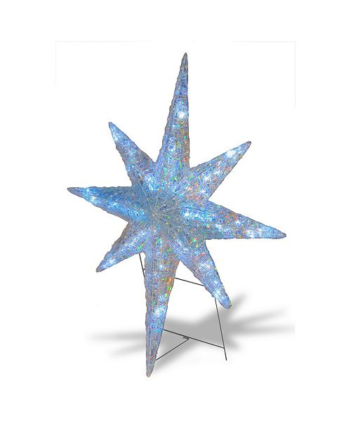 """National Tree Company 42"""" Ice Crystal Star with LED Lights"""