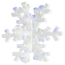 "National Tree Company 36"" Giant 3D Snowflake"