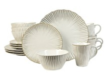 Sango Portura White 16-Piece Dinnerware Set