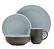 Sango Tailor Granite 16-Piece Dinnerware Set