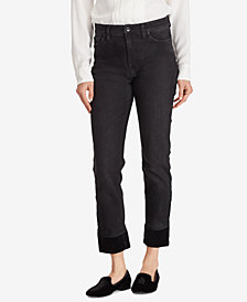 Ralph Lauren Petite Straight Ankle Jeans