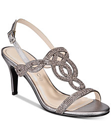 Caparros Pharrell Embellished Evening Sandals