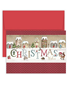 Masterpiece Studios Christmas Wishes Village Boxed Holiday Cards