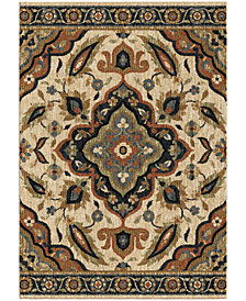 "Orian Next Generation Wada Off White 5'3"" x 7'6"" Area Rug"