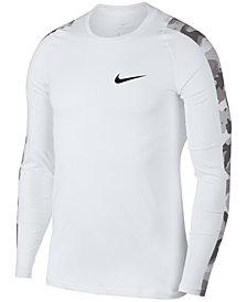 Nike Pro Camo-Sleeve Top