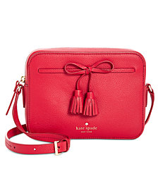 kate spade new york Hayes Street Arla Pebble Leather Crossbody