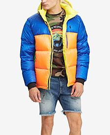 Polo Ralph Lauren Men's Great Outdoors Water-Repellent Down Coat