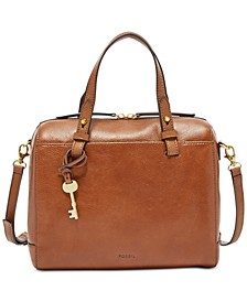 Rachel Small Leather Satchel