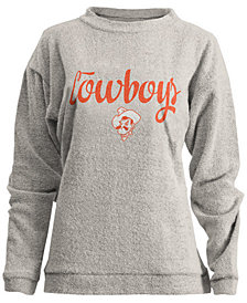 Pressbox Women's Oklahoma State Cowboys Comfy Terry Sweatshirt