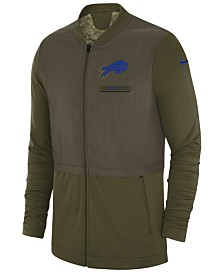 Nike Men's Buffalo Bills Salute To Service Elite Hybrid Jacket