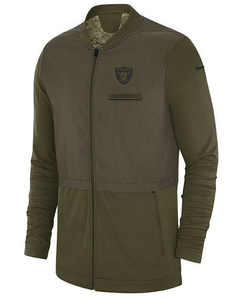 buy online b4bfc e41b1 Nike Men's Oakland Raiders Salute To Service Elite Hybrid ...