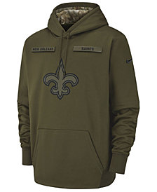 Nike Men's New Orleans Saints Salute To Service Therma Hoodie